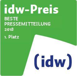 idw-Preis 2018